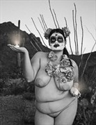 Milagro Photos, Tucson AZ Artistic Nude Photo by Model Desert Rose