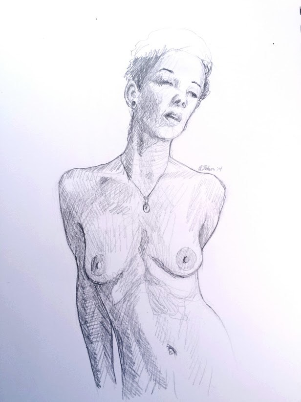 Millie Artistic Nude Artwork by Artist AnthonyNelsonArt