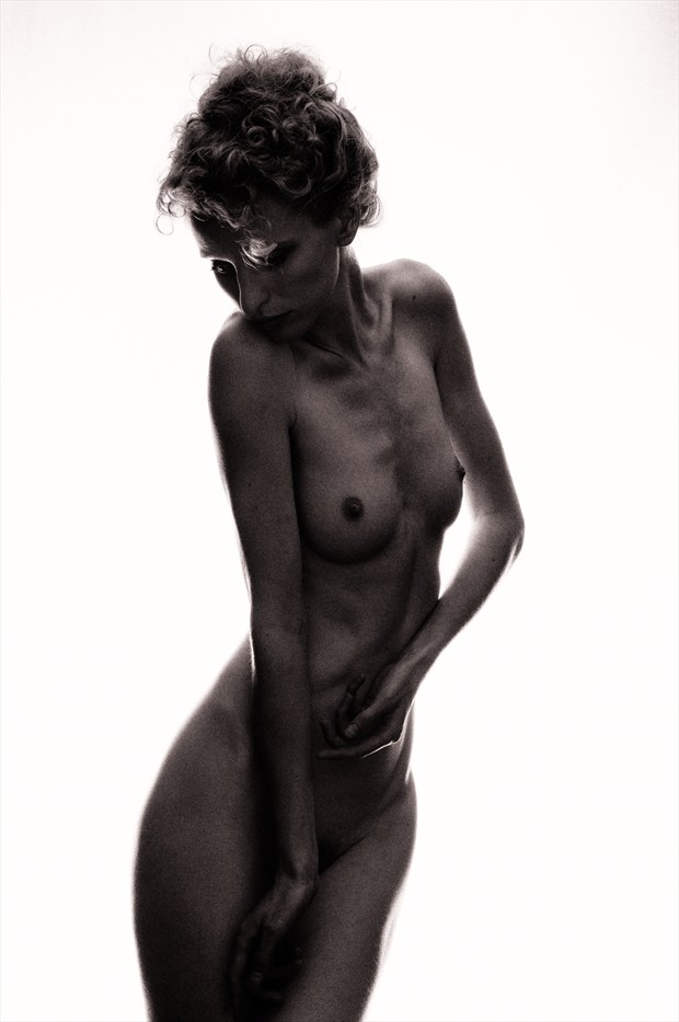 Mimesis %234: Bronze Artistic Nude Photo by Photographer Bruce M Walker