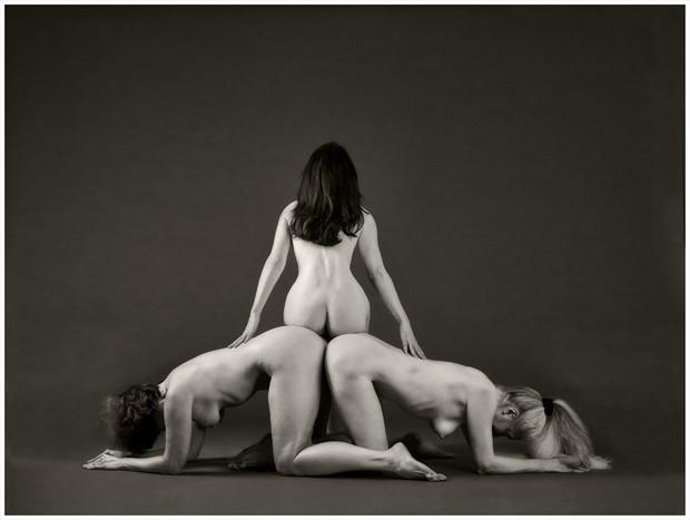 Mind the Gap Artistic Nude Artwork by Model Cheryl Jewelle