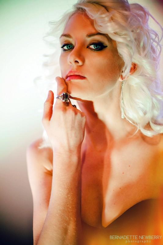 Mint Glamour Artwork by Photographer Bernadette Newberry