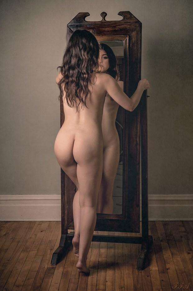Mirror, mirror Artistic Nude Photo by Photographer Fischer Fine Art