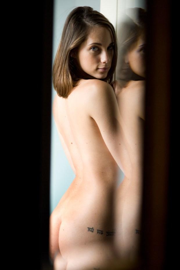 Mirror Implied Nude Photo by Photographer Rene de Haan