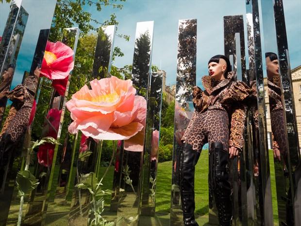 Mirror Maze 2 Nature Photo by Model Talli Lyndsey