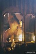 Mirror Mirror Artistic Nude Artwork by Model Rosa Brighid