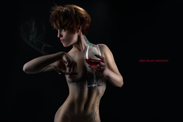 Miss Confident Artistic Nude Photo by Photographer Dave Kelley Artistics