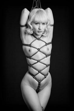Miss Eris Rope 1 Erotic Photo by Photographer Daniel Hubbert