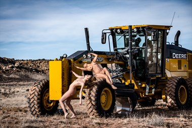 Moab Artistic Nude Photo by Model April A McKay