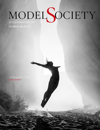 Model Society Magazine %232   Cover art by Joel Belmont Artistic Nude Photo by Administrator Model Society Admin