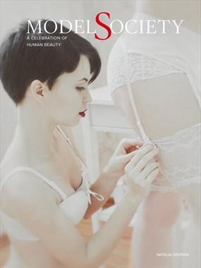 Model Society Magazine %236   Cover by Natalia Drepina Lingerie Photo by Administrator Model Society Admin