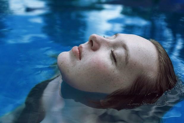 Modern Ophelia Fantasy Artwork by Photographer Laura Sheridan's Art