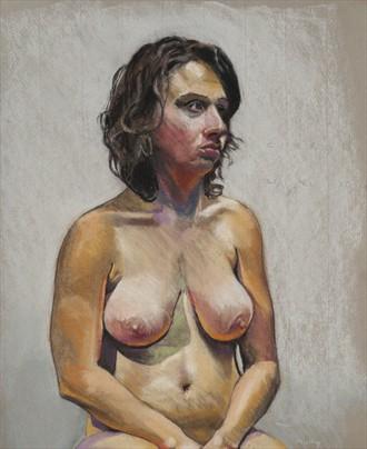 Molly Artistic Nude Artwork by Artist Ciaran Taylor