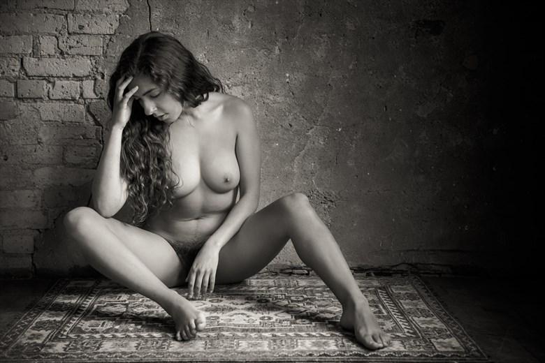 Monique Seated Nude Artistic Nude Photo by Photographer Risen Phoenix