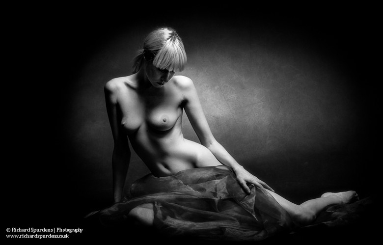 Mono Reflections Artistic Nude Photo by Photographer Richard Spurdens