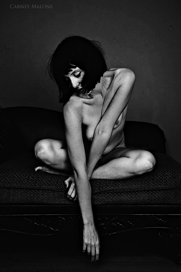 Moody Artistic Nude Photo by Photographer Carney Malone