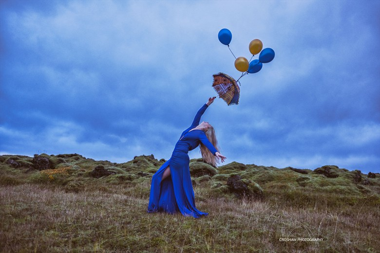 Moody Blues Nature Photo by Model Mossy