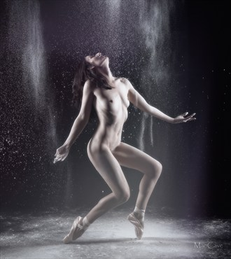 Moon dance Artistic Nude Photo by Model Rose Valentina