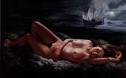 Moonlight dream Artistic Nude Artwork by Artist Bruno Di Maio