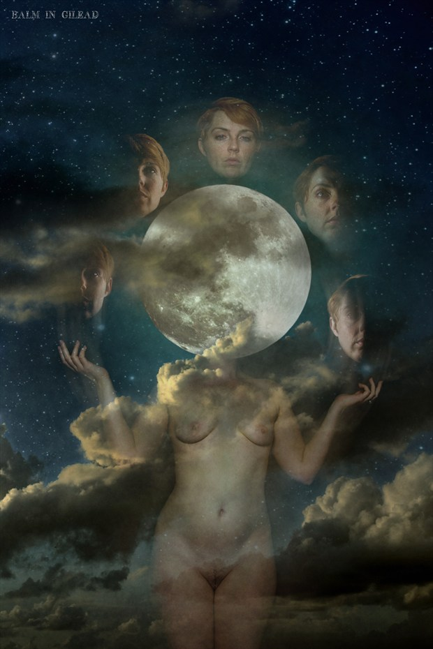 Moonphases Artistic Nude Photo by Model HollyLoveday