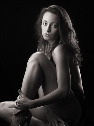 Morgan Artistic Nude Photo by Photographer William von Wenzel