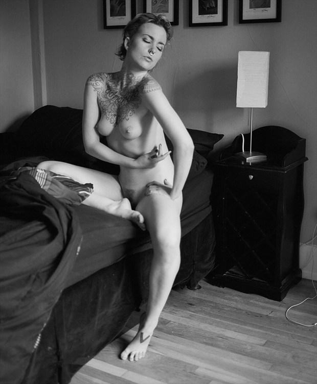 Morning Glory Artistic Nude Photo by Photographer Vahid Naziri