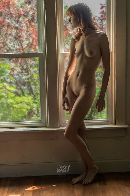 Morning Light at Wolf House Artistic Nude Photo by Model Cameo Michelle