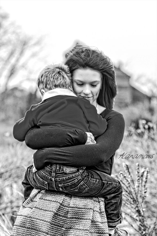 Mother's Love Candid Photo by Photographer Alanamous