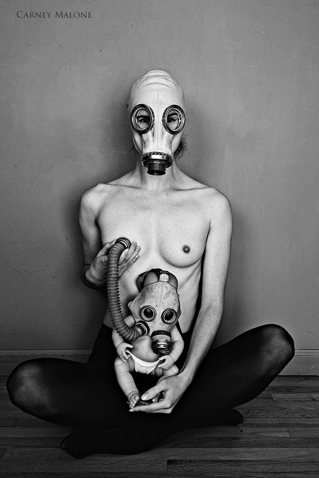 Mother and Child Artistic Nude Photo by Photographer Carney Malone