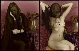 Mourning Portrait, II Artistic Nude Artwork by Photographer Michael J Berkowitz