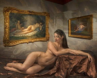 Mourning the Loss of Cupid Artistic Nude Photo by Photographer Tom Gore