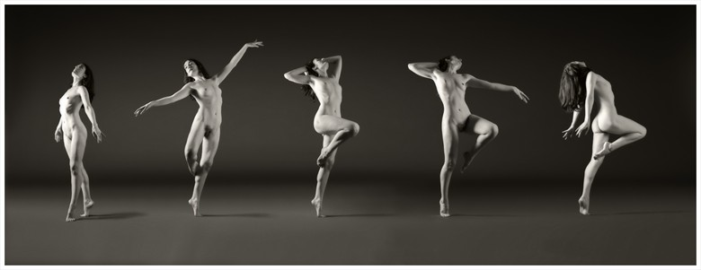 Movement Artistic Nude Photo by Model Rose Valentina