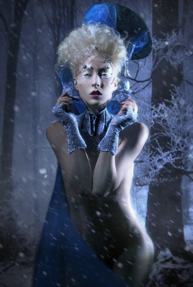 Mrs. Jack Frost Fantasy Artwork by Photographer gracefullywicked