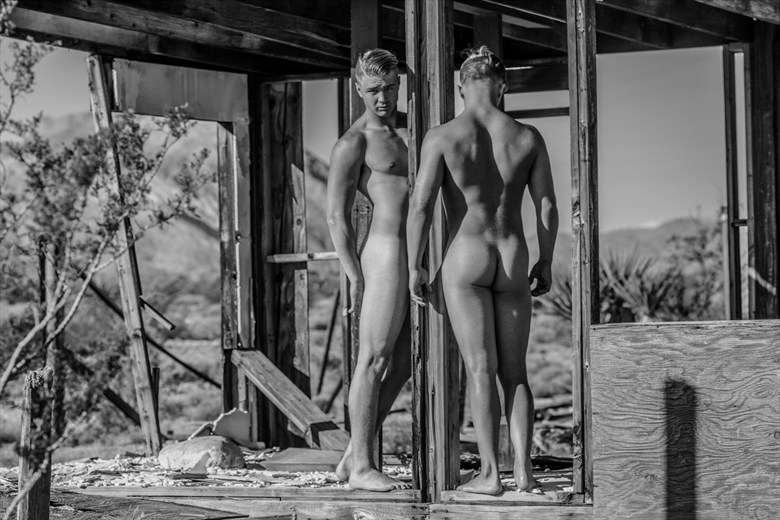 Mt. Charleston Artistic Nude Photo by Artist April Alston McKay