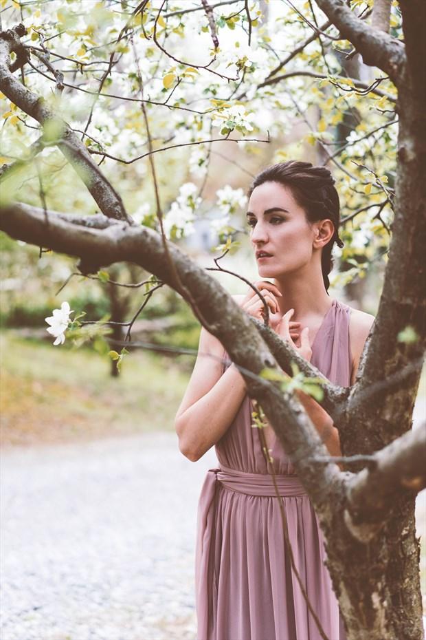 Mucha Inspired Portrait Sensual Artwork by Photographer Calengor