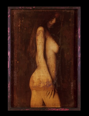 Muse %231 Artistic Nude Artwork by Artist Peter Michelena