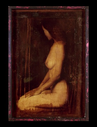 Muse %232 Artistic Nude Artwork by Artist Peter Michelena