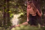 Muse sylvestre en robe de soir%C3%A9e Nature Photo by Photographer Aur%C3%A9lien PIERRE