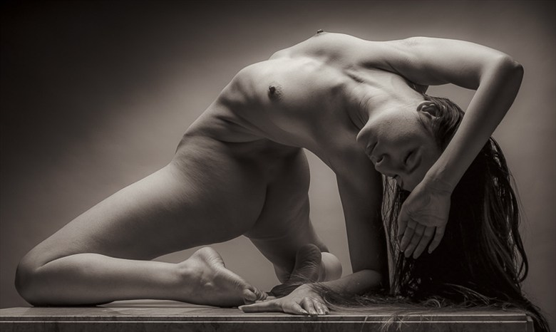 My Back Hurts Just Thinging About This Artistic Nude Photo by Photographer rick jolson