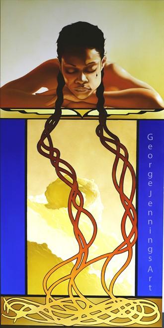 My Braids Fantasy Artwork by Artist jart64