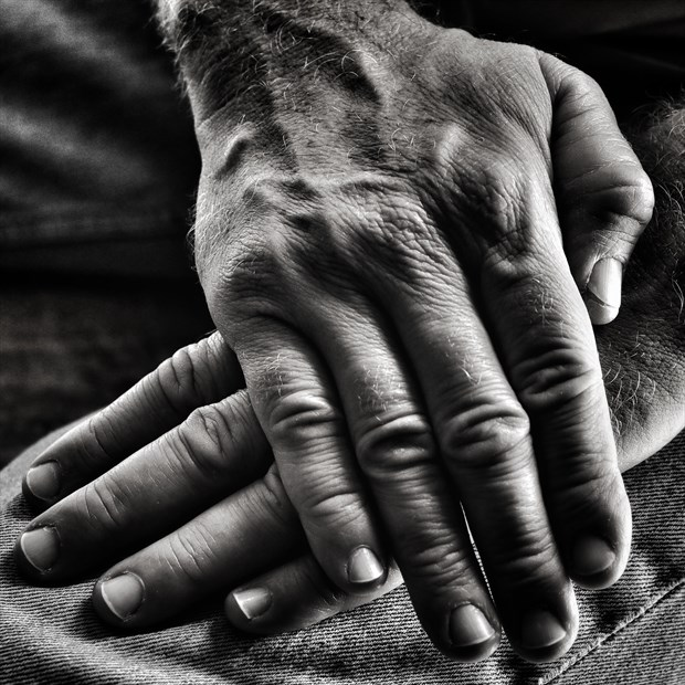 My Hands Close Up Photo by Photographer rdp