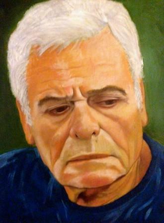 My dear friend John  Portrait Artwork by Artist Manolis Kastrinakis
