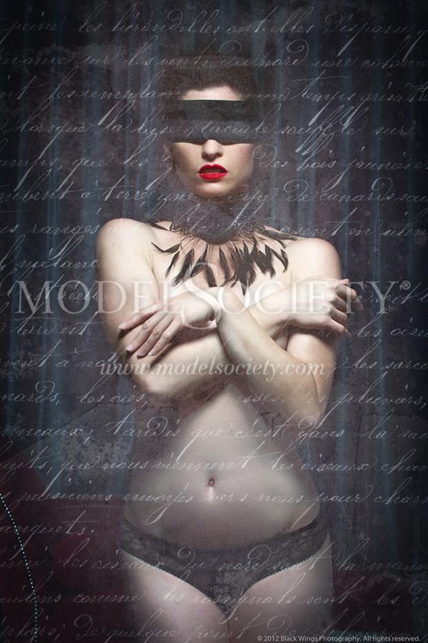 My last letter to you... Artistic Nude Photo by Photographer Black Wings