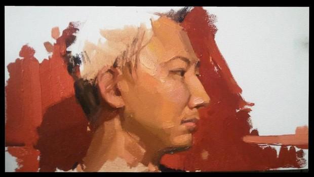My portrait by a good friend  Portrait Artwork by Artist ShunXie