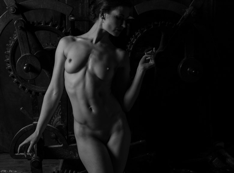 Mystery Artistic Nude Artwork by Photographer CM Photo