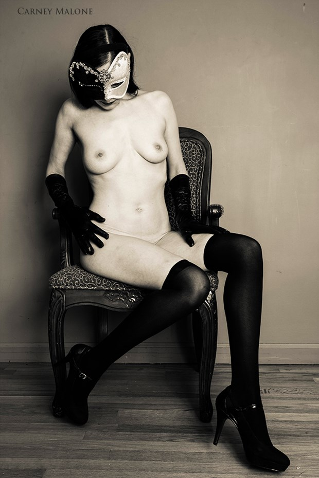 Mystique Artistic Nude Photo by Photographer Carney Malone