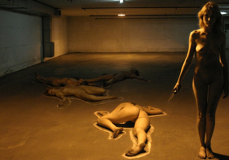 NO Name Artistic Nude Artwork by Artist eldad RELROY