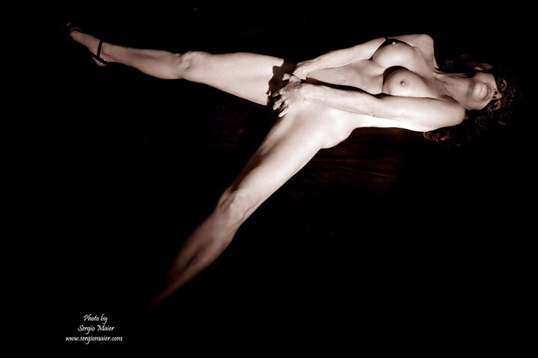 NUDE by SERGIO MAIER 2016 Artistic Nude Photo by Model Christine Berl