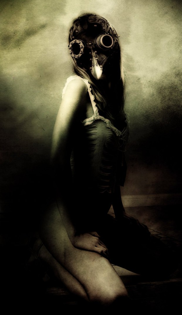 Nadezhda Erotic Photo by Artist Daniele Deriu