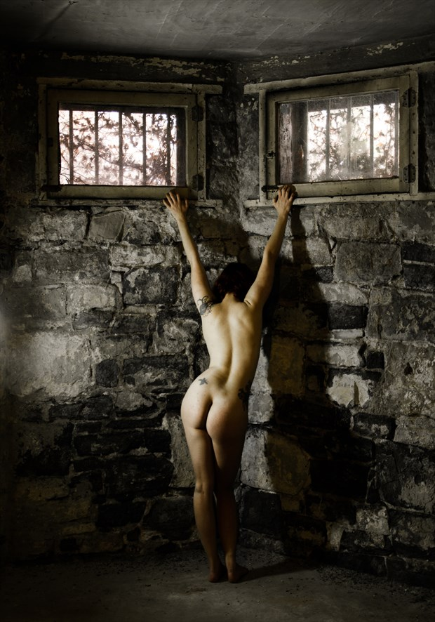 Naked Basement Artistic Nude Photo by Photographer Al Fess