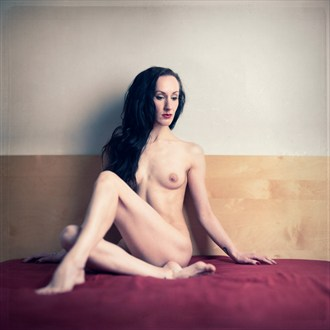 Naked In Bed Artistic Nude Photo by Model Myrtha Meadows